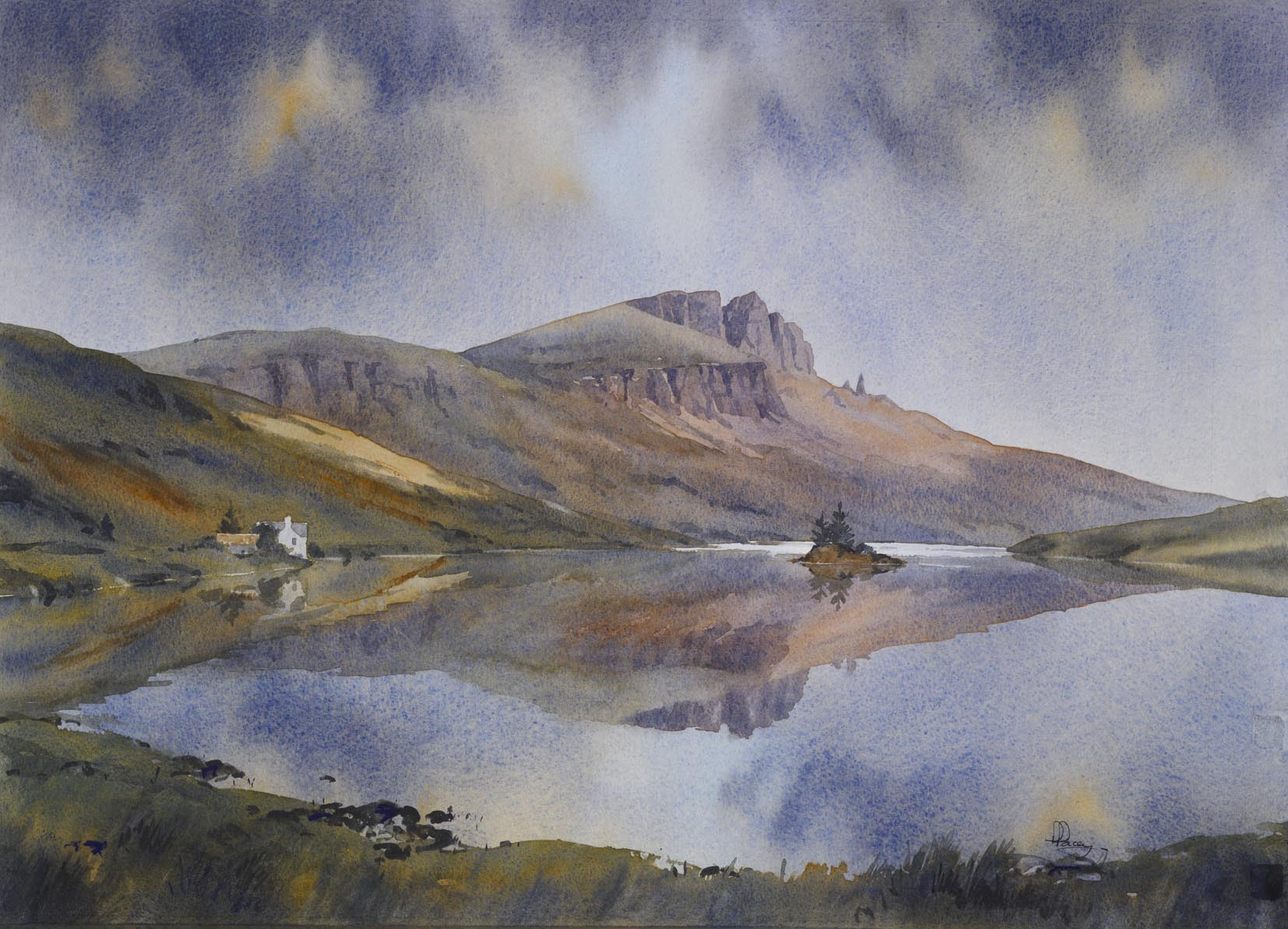 Storr Reflections, Isle of Skye